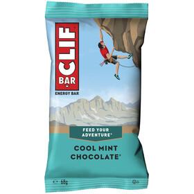 CLIF Bar Caja Barritas Energéticas 12 x 68g, Chocolate-Mint
